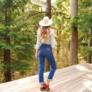 Vintage Wrangler High Waist Mom Jeans Size 26